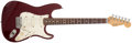 Musical Instruments:Electric Guitars, 1989 Fender Stratocaster Plus Red Electric Guitar, #E960963. ...
