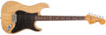 Musical Instruments:Electric Guitars, 1979 Fender Stratocaster Natural Electric Guitar, #S971286....