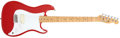 Musical Instruments:Electric Guitars, 1981 Fender Bullet Red Electric Guitar, #E112336....