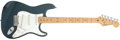 Musical Instruments:Electric Guitars, 1988 Fender Stratocaster Metallic Blue Electric Guitar, #E816502....