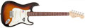 Musical Instruments:Electric Guitars, 2005 Fender Stratocaster 60th Anniversary Sunburst Electric Guitar,#Z5223261. ...