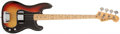Musical Instruments:Bass Guitars, 1975 Fender Precision Bass Sunburst Solid Body Electric Bass Guitar, #649318. ...