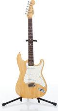 Musical Instruments:Electric Guitars, 1986 Fender Squier Stratocaster Natural Electric Guitar, Serial #E672545. ...