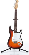 Musical Instruments:Electric Guitars, 1995 Fender Stratocaster Sunburst Electric Guitar, Serial #MN51980639....