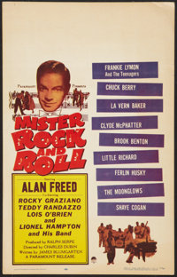 """Mister Rock and Roll (Paramount, 1957). Window Card (14"""" X 22""""). Rock and Roll"""
