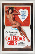 """Movie Posters:Adult, Calendar Girls Lot (SRC Films, 1977). One Sheets (7) (27"""" X 41""""). Adult.. ... (Total: 7 Items)"""