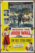 """Movie Posters:Crime, Behind the High Wall Lot (Universal International, 1956). One Sheets (2) (27"""" X 41""""). Crime.. ... (Total: 2 Items)"""