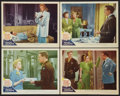 """Movie Posters:Comedy, Week-End at the Waldorf (MGM, 1945). Lobby Cards (4) (11"""" X 14""""). Comedy.. ... (Total: 4 Items)"""