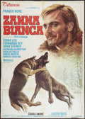 "Movie Posters:Adventure, White Fang (Titanus Distributors, 1973). Italian 2 - Foglio (39"" X55""). Adventure.. ..."