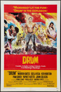 "Movie Posters:Blaxploitation, Drum Lot (United Artists, 1976). One Sheets (2) (27"" X 41"") and AnItalian Locandina (13"" X 27""). Blaxploitation.. ... (Total: 3Items)"