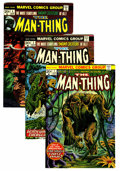 Bronze Age (1970-1979):Horror, Man-Thing Group (Marvel, 1974-75) Condition: Average VF.... (Total:26 Comic Books)