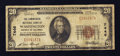 National Bank Notes:District of Columbia, Washington, DC - $20 1929 Ty. 1 The Commercial NB Ch. # 7446. ...