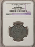 Large Cents, 1796 1C LIHERTY--Improperly Cleaned--NGC Details. VG. S-104. NGCCensus: (0/3). PCGS Population (2/12). Mintage: 363,375. ...