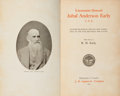 Books:Americana & American History, [Jubal Anderson Early]. Lieutenant General Jubal Anderson EarlyC. S. A. Autobiographical Sketch and Narrative of the Wa...