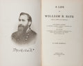 Books:Americana & American History, Park Marshall. A Life of William B. Bate. Nashville: TheCumberland Press, 1908. Portrait frontis. First editio...