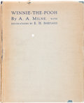 Books:Children's Books, A. A. Milne. Winnie-the Pooh. With Decorations by E. H.Shepard. London: Methuen & Co., [1926].. ...