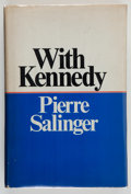 Books:Americana & American History, Pierre Salinger. INSCRIBED. With Kennedy. Garden City:Doubleday & Company, Inc., 1966. First edition, advance r...