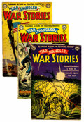 Golden Age (1938-1955):War, Star Spangled War Stories Group (DC, 1953-55) Condition: AverageGD.... (Total: 15 Comic Books)