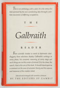 Books:Americana & American History, [John Kenneth Galbraith]. INSCRIBED. The Galbraith Reader.Ipswich: Gambit Ipswich & Macmillan, 1977. First edit...