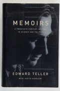 Books:Science & Technology, Edward Teller with Judith L. Shoolery. INSCRIBED.Memoirs....
