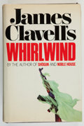 Books:Mystery & Detective Fiction, James Clavell. INSCRIBED. Whirlwind. New York: WilliamMorrow, [1986]. First edition, first printing. Cryptically ...