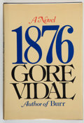 Books:Literature 1900-up, Gore Vidal. INSCRIBED. 1876, A Novel. New York: RandomHouse, [1976]. First edition, first printing. Humorously in...