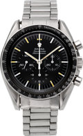 Timepieces:Wristwatch, Omega Speedmaster Professional Cal. 321 Steel Chronograph, circa 1967. ...