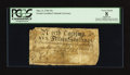 Colonial Notes:North Carolina, North Carolina March 9, 1754 15s PCGS Apparent Very Good 08.. ...