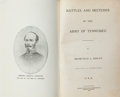 Books:Americana & American History, Bromfield Ridley. Battles and Sketches of the Army ofTennessee. Mexico, Missouri: Missouri Printing &Publishin...