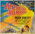 "Movie Posters:Drama, An American Romance (MGM, 1944). Six Sheet (81"" X 81""). Drama.. ..."
