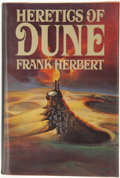 Books:Science Fiction & Fantasy, Frank Herbert. Heretics of Dune. New York: G. P. Putnam's Sons, [1984]. First edition, first printing. Octavo. 480 p...