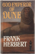 Books:Science Fiction & Fantasy, Frank Herbert. God Emperor of Dune. New York: G. P. Putnam's Sons, [1981]. First edition, first printing. Octavo. 41...