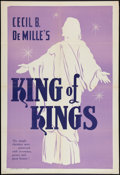 "Movie Posters:Historical Drama, The King of Kings Lot (Pathé, R-1954). One Sheet (27"" X 41"").Historical Drama.. ... (Total: 2 Items)"