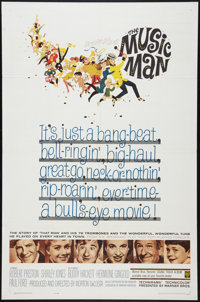"""The Music Man (Warner Brothers, 1962). One Sheet (27"""" X 41""""). Musical"""