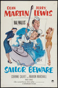 """Movie Posters:Comedy, Sailor Beware (Paramount, 1952). One Sheet (27"""" X 41""""). Comedy.. ..."""