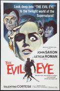 "Movie Posters:Mystery, The Evil Eye (American International, 1964). One Sheet (27"" X 41"").Mystery.. ..."