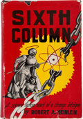 Books:Science Fiction & Fantasy, Robert A. Heinlein. Sixth Column. New York: Gnome Press,[1949].. First edition, first printing. Signed by t...