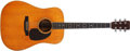 Musical Instruments:Acoustic Guitars, 1966 Martin D-35 Natural Acoustic Guitar, #214117....