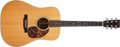 Musical Instruments:Acoustic Guitars, 1970 Martin D-28 Natural Acoustic Guitar, #265438. ...