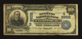 National Bank Notes:Kentucky, Catlettsburg, KY - $10 1902 Date Back Fr. 619 The Kentucky NB Ch. #(S)9602. ...