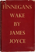Books:Literature 1900-up, James Joyce. Finnegans Wake. London: Faber and FaberLimited, 1939.. First trade edition. With a bookseller's ...