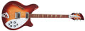 Musical Instruments:Electric Guitars, 1992 Rickenbacker 330 Fireglo Electric Guitar, # K5 4041...