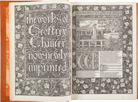 [Kelmscott Press]. Geoffrey Chaucer. The Works of Geoffrey Chaucer now newly imprinted.<