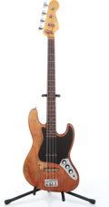 Musical Instruments:Bass Guitars, 1960s Fender Jazz Natural Electric Bass Guitar, No Visible Serial#....