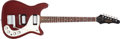 Musical Instruments:Electric Guitars, Circa 1963 Epiphone Wilshire Cherry Red Electric Guitar, #30353....
