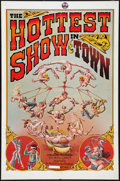 "Movie Posters:Adult, The Hottest Show in Town (Mammoth Films, 1974). One Sheet (27"" X 41""). Adult.. ..."