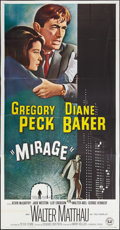 """Movie Posters:Mystery, Mirage (Universal, 1965). Three Sheet (41"""" X 81""""). Mystery.. ..."""