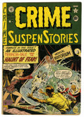 Golden Age (1938-1955):Horror, Crime SuspenStories #4 (EC, 1951) Condition: VG-....