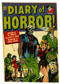 Golden Age (1938-1955):Horror, Diary of Horror #1 (Avon, 1952) Condition: FN....