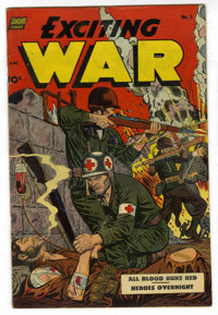 Exciting War #5 (Standard, 1952) Condition: VG/FN